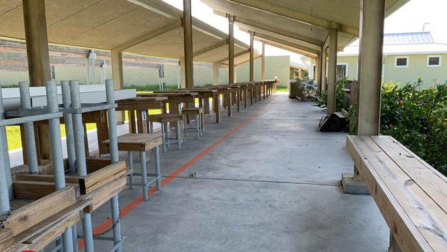 range benches